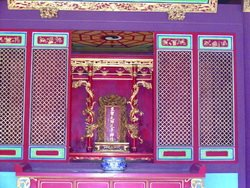儒家代表,至聖先師孔子神位
